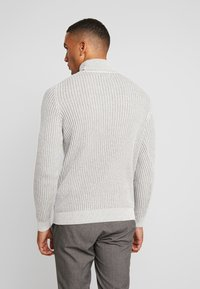 Pier One - Strickpullover - 111 - mottled light grey - 2