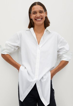 CARMELO - Button-down blouse - cremeweiß