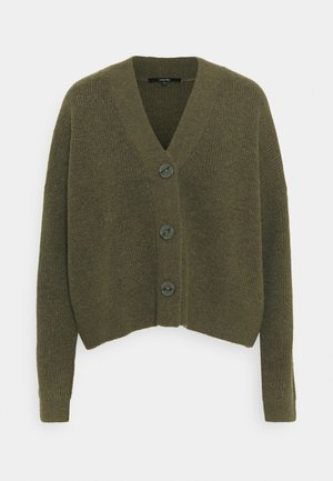 TANSHI - Cardigan - misty green