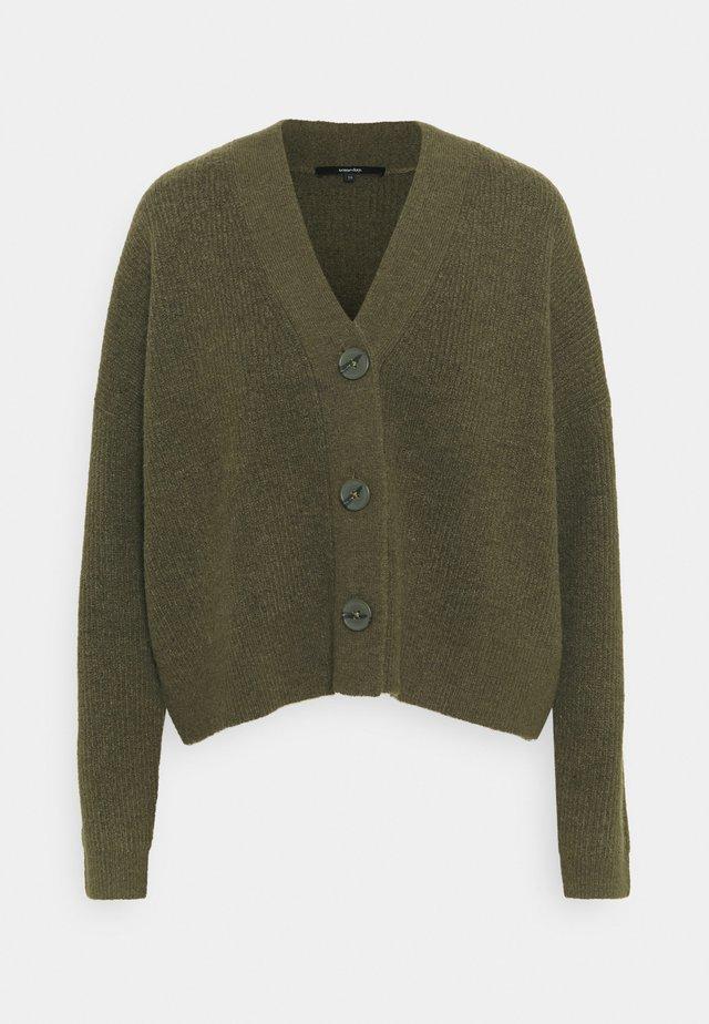 TANSHI - Cardigan - misty green