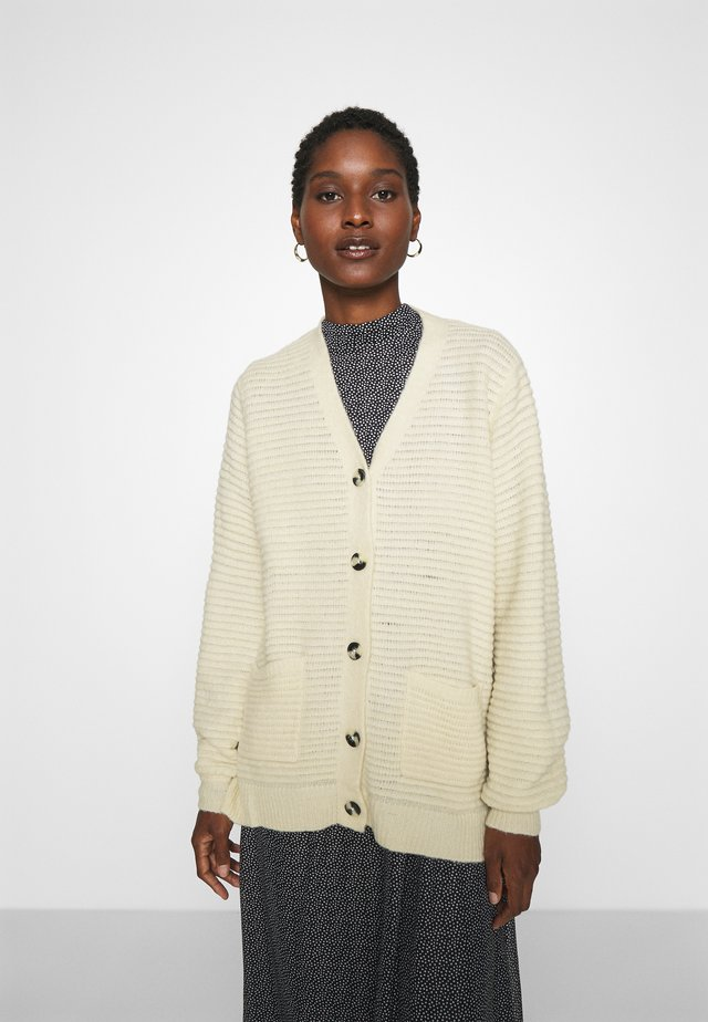EBBA CARDIGAN - Gilet - off white