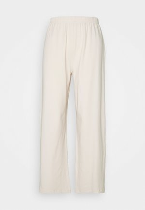 WIDE LEG TROUSERS - Tracksuit bottoms - pink