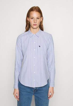 MOOSE OXFORD - Button-down blouse - blue