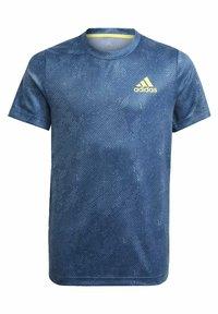 adidas Performance - Camiseta estampada - blue - 4