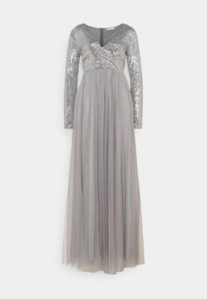 GIVE IT ALL GOWN - Iltapuku - dark grey