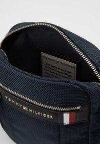 Tommy Hilfiger - ELEVATED NYLON MINI REPORTER - Across body bag - blue - 3