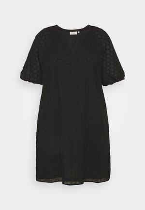 CARAGATA 2/4 DRESS - Day dress - black