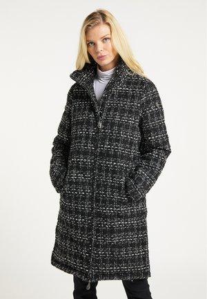 Cappotto invernale - schwarz weiss
