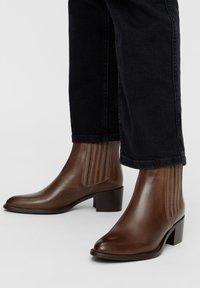 Bianco - BIACAROL  - Classic ankle boots - mediumbrown - 0