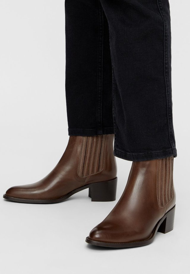BIACAROL  - Classic ankle boots - mediumbrown