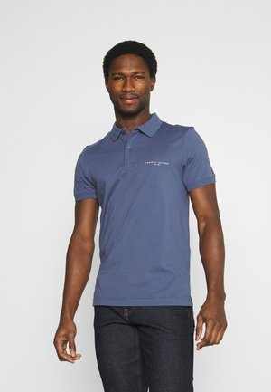 CLEAN SLIM - Poloshirt - faded indigo