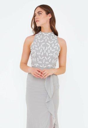 ALICIA - Společenské šaty - light grey