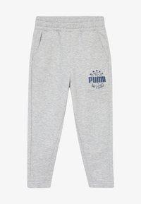 Puma - Tracksuit bottoms - light gray heather - 3