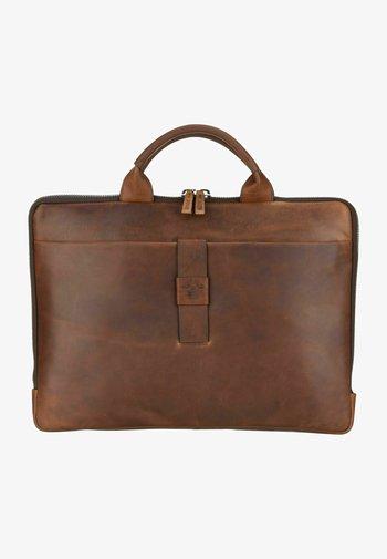 LORETO SAMU  - Briefcase - dark brown