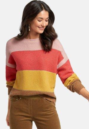 Trui - gelb/multicolor