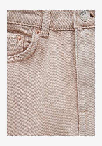 ROSAFARBENE PATCHWORK - Straight leg jeans - pink