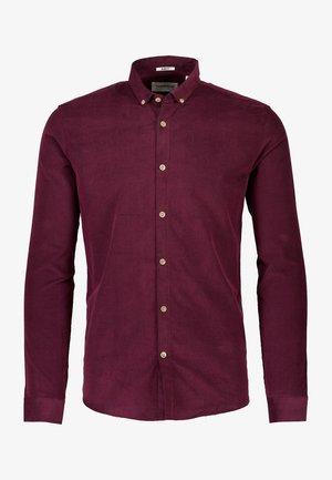 FINE CORDUROY - Shirt - bordeaux