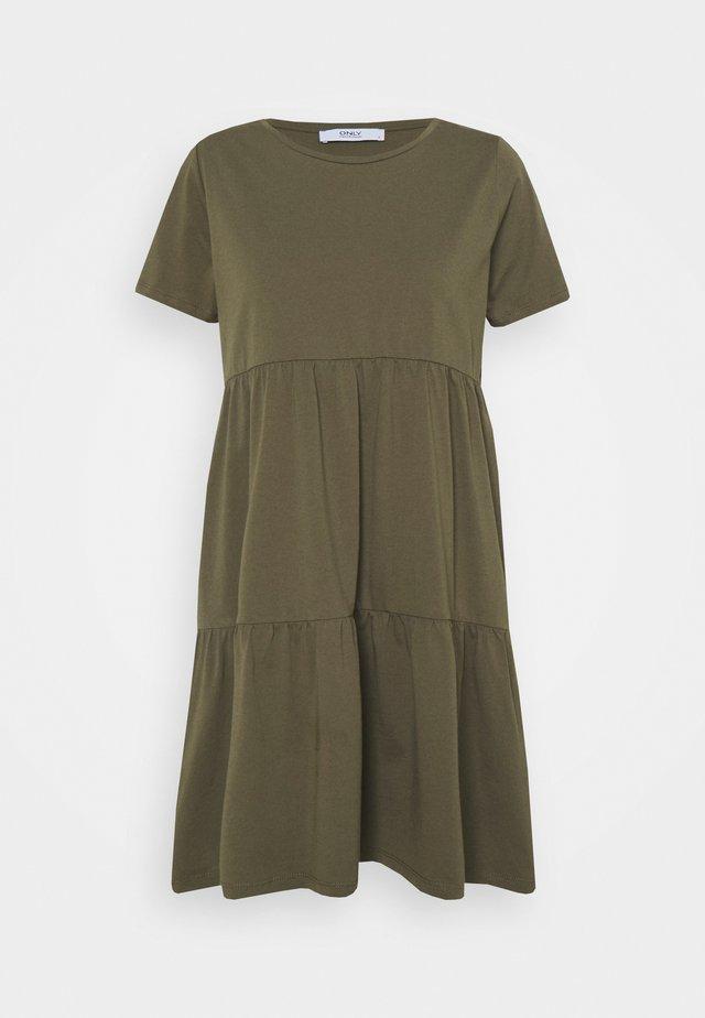 ONLAYCA PEPLUM DRESS - Trikoomekko - kalamata