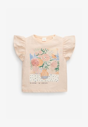 FLOWER  - T-shirts print - light pink