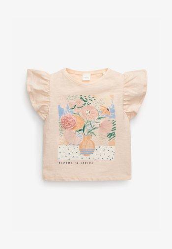 FLOWER  - Print T-shirt - light pink