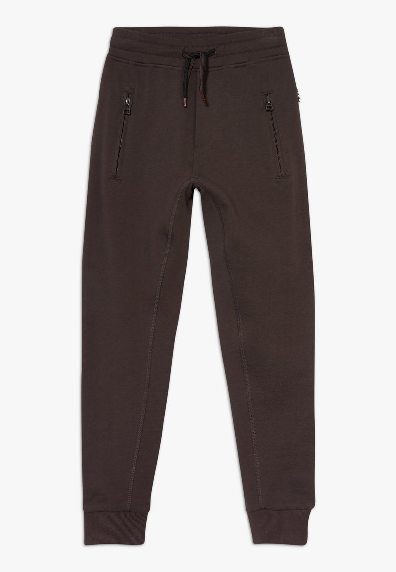 Molo - ASH - Tracksuit bottoms - brown darkness