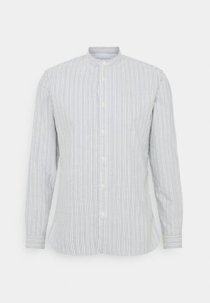 SLHSLIMMILTON STRIPES - Formal shirt - grey
