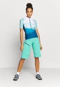 Vaude - MAJURA TRICOT - Print T-shirt - breeze - 1