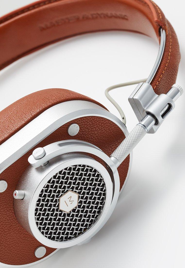 Master & Dynamic MH40 OVER-EAR - Hodetelefoner - brown/silver-coloured/konjakk scq7EABjNjowK30
