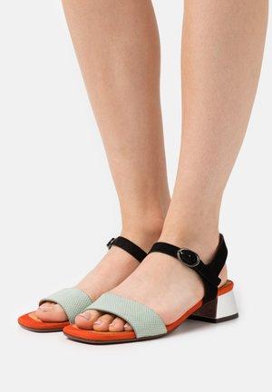 UBANE - Sandals - ada salvia/russo/tana silver