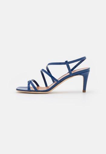 TACCO MEDIO  - Sandals - nautical blue