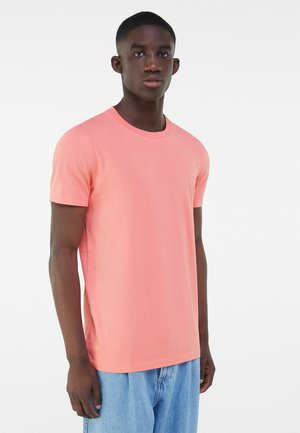 REGULAR FIT  - Basic T-shirt - coral