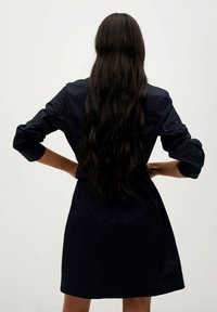Mango - Shirt dress - azul marino - 2