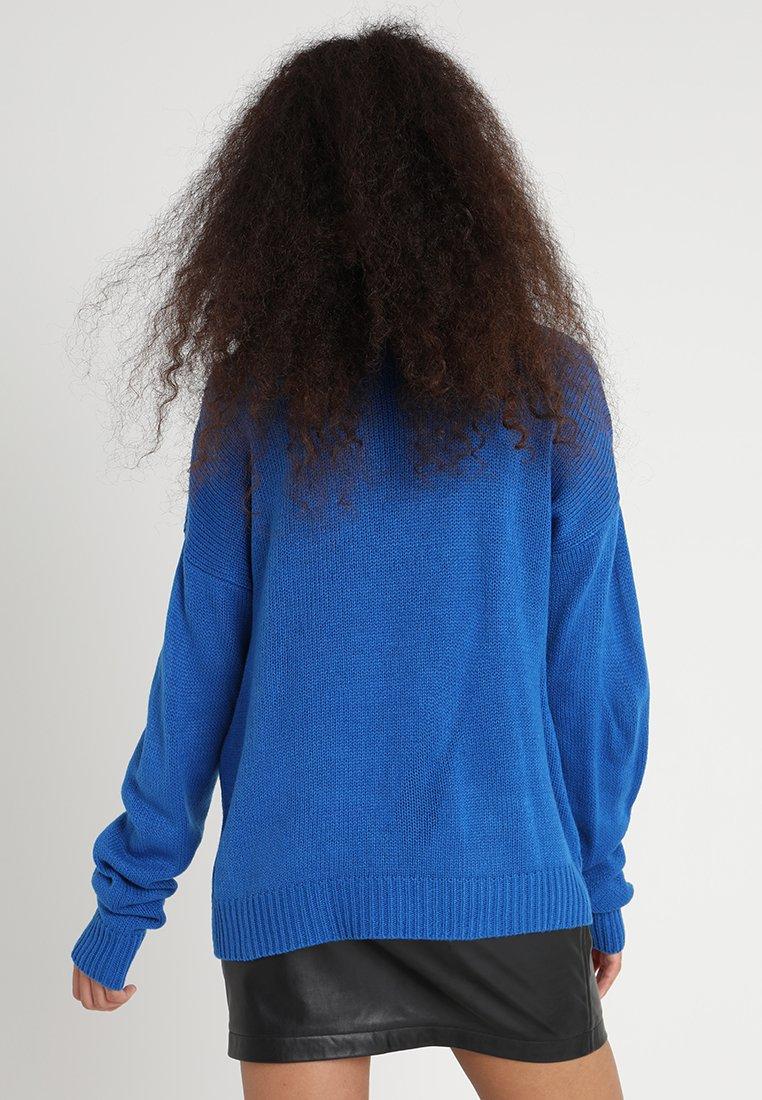 Mujer Oversize Turtleneck - Jersey de punto