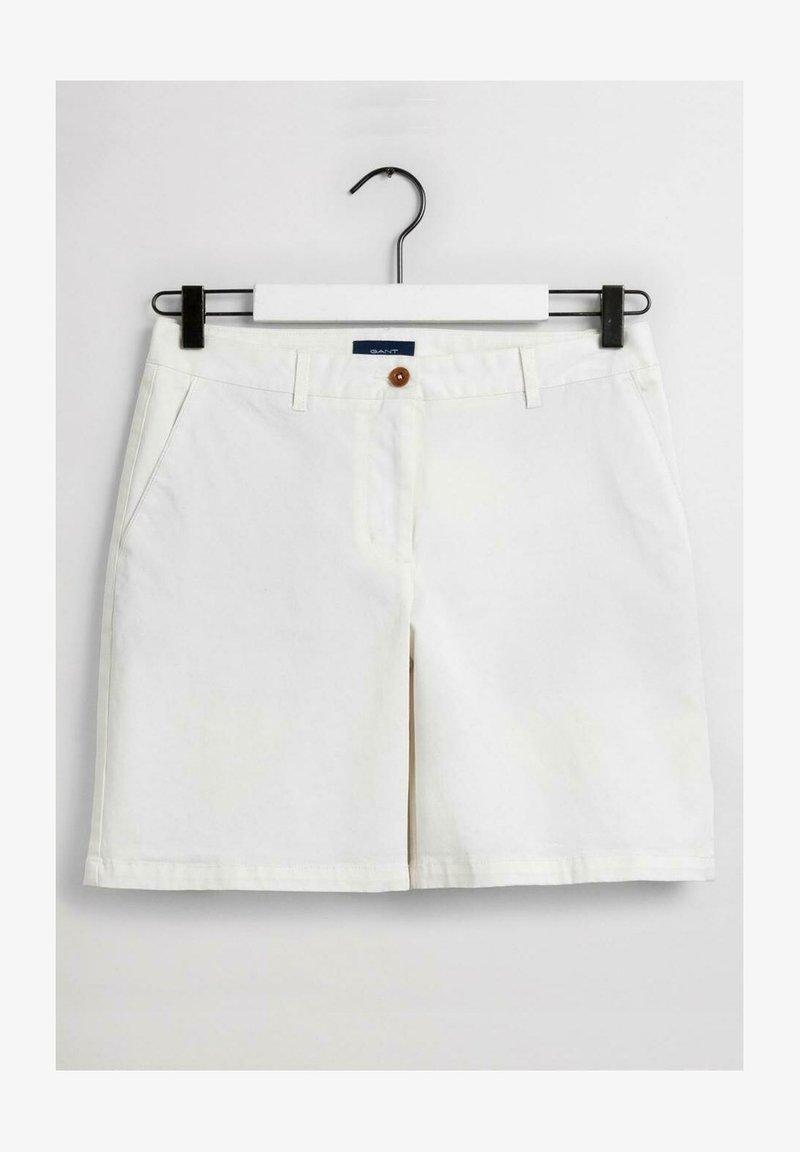 GANT - Shorts - eggshell