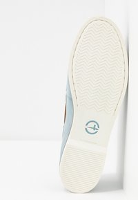 Tamaris - LACE-UP - Boat shoes - sky - 6