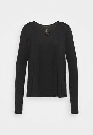 MOVE SPLIT BACK LONG SLEEVE YOGA  - Long sleeved top - black