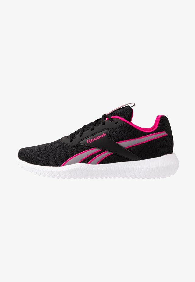 FLEXAGON ENERGY TR 2.0 - Sports shoes - black/grey/pink