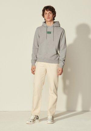 HOODIE DOUBLE - Sweatshirt - gris chiné