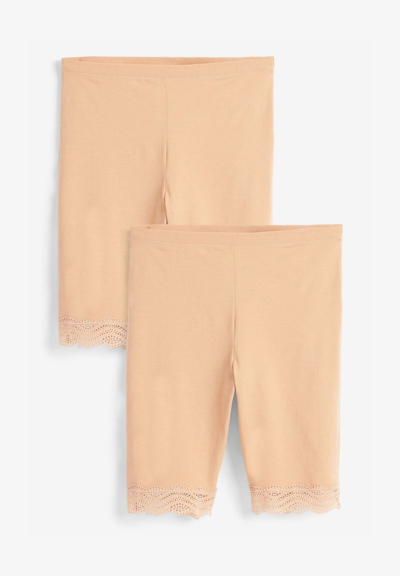 Next - 2 PACK - Shorts - nude
