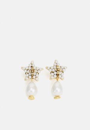 EARRINGS BEADS - Boucles d'oreilles - gold-coloured