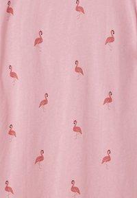 PULL&BEAR - Print T-shirt - rose - 4