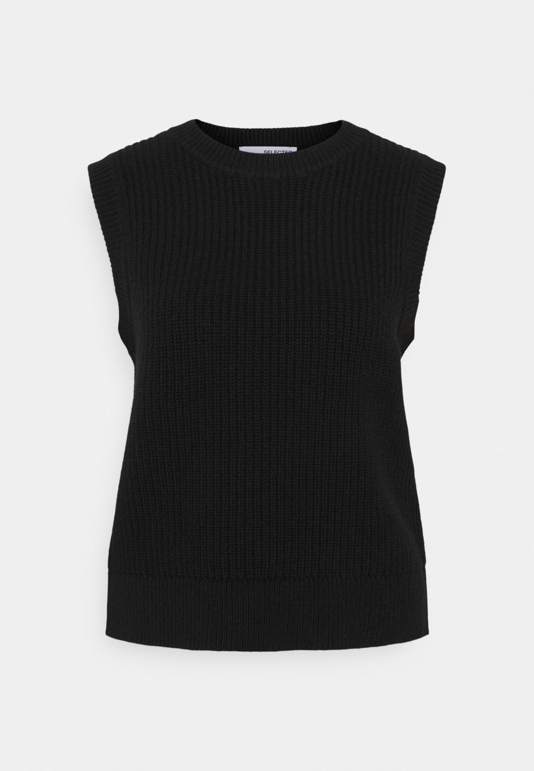 Women SLFJOS VEST - Print T-shirt