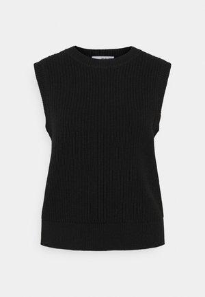 SLFJOS VEST - Print T-shirt - black