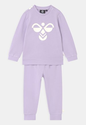 ARIN CREWSUIT SET UNISEX - Trainingspak - pastel lilac