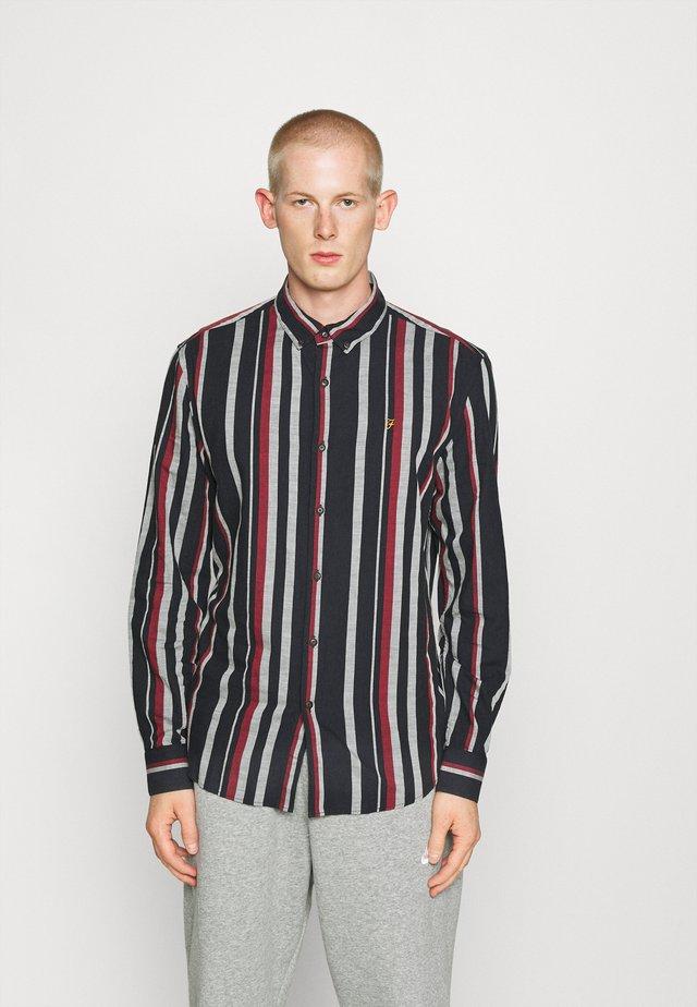 MCPHERSON STRIPE  - Camisa - true navy marl