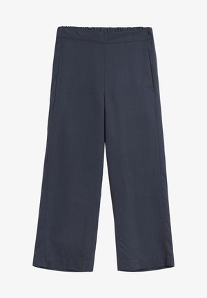 KAMALAA - Trousers - frozen blue