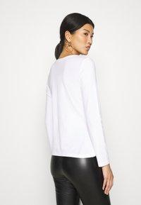 Anna Field - 3 PACK - Camiseta de manga larga - black/white/mottled light grey - 2