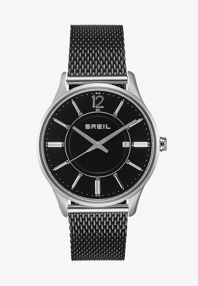 CONTEMPO HAND - Orologio - silver-coloured/black