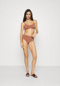 Seafolly - SEA DIVE SLIDE - Bikini top - bronze - 1
