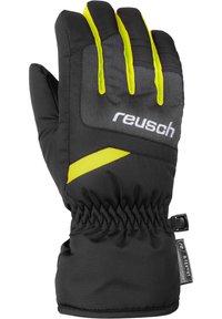 Reusch - BENNET - Gloves - blck/blck mel/safety yell - 1